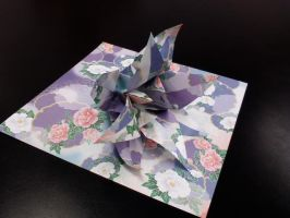 Origami Flower by GoldWinds