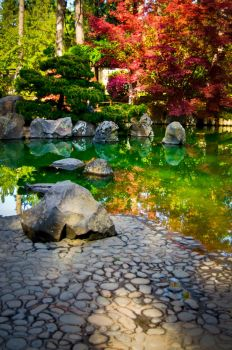 Japanese Garden at Manito Park by OEMminus
