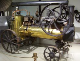 Portable Steam Engine by LNERA4