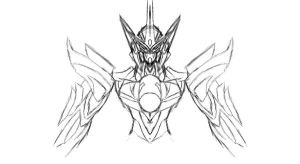 Hellion Gundam Torso design by AMO17