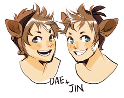 DAE + JIN CHE by alpacasovereign