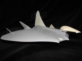 1:48th scale Drac fighter by srspicer
