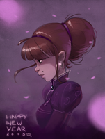 Happy new year by bib0un
