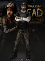 Nick  The Walking Dead  Season 2 by JhonyHebert