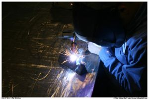 Oh noes... I'm Mig Welding by JBail
