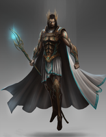 Olan, Lord of the Heavens by BABAGANOOSH99