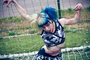 Zombie Cheerleader VII by Int0XiKate