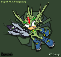 Guyot the Hedgehog Sonic Team by Cannibal-Hyper-Tails