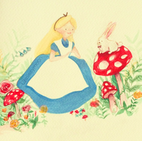 Alice in wonderland by chriissymoon