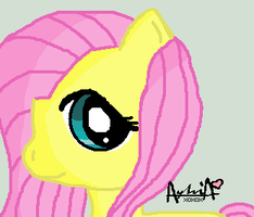 Fluttershy For Cyrstallyna by Ayleia-The-Kitty