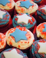 Firecracker Cupcakes by Strange-1