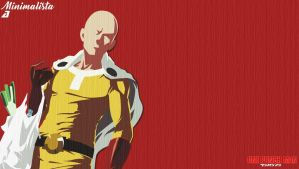 Saitama (One Punch Man) by AndersonArtJ1