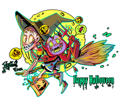 Happy Halloween by LilyChaoS