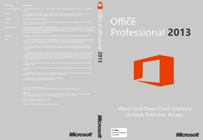 Office 2013 Cover (Unofficial) by joostiphone