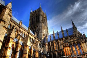 Lincoln Cathedral by nat1874