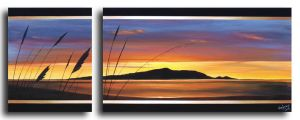 Golden Dusk on Kapiti by karlandrews