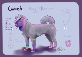 ADOPTABLE CANINE COMET -SOLD- by Kellalizard