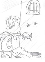 rayman in  prison by fatguy88