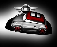 Mini Cooper S by Ghost21501