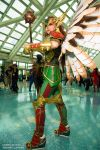 Comikaze 2014 Hawkgirl Axceleration Cosplay by wbmstr
