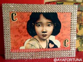 The Clementine Card by MadalinaRapture
