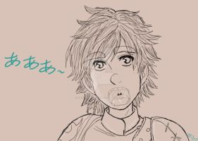 Hiccup's Maw by ChiisaiKabocha17