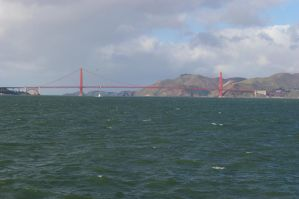 Goldengate from Pier Edge by mirengraphics