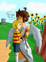 Lucas and Pit by xBooxBooxBear