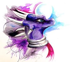 Throwback dragons- Cynder by Lucky978