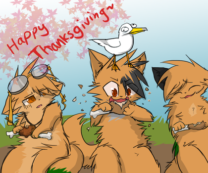 Happy thanksgiving-PG by Yirina