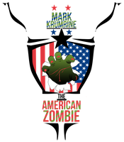 American Zombie walk out t shirt by caseharts
