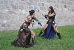Swords and girls 5 stock by IngwellRitter-Stock