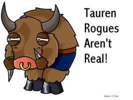 Warcraft Tauren Rogue ?? by neepers-n-creep