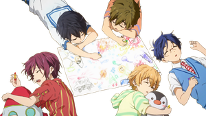 Free! Eternal Summer Babies Render by MegaBleachy