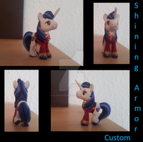 Shining Armor - Custom Made by CelestPapermoon