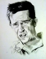 Ed Helms by SarahEleanor