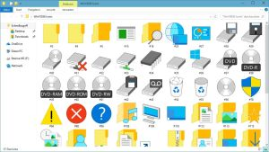 WINDOWS 10 BUILD 10036 ICON PACK | IMAGERES.DLL by GTAGAME