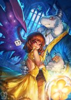 Undertale : Beauty and the Beast by Sa-Dui