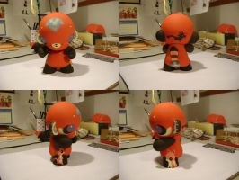 Chinabuttah Munny by Pocketowl