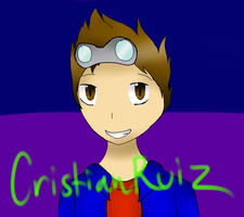 Cristian's Youtube Pic by SparkyChan23