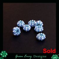 breeze beaded beads by green-envy-designs