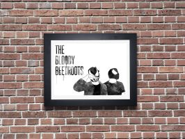 THE BLOODY BEETROOTS by AFDROBOY