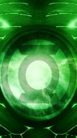 Green Lantern Suit Iphone 5 Wallpaper test 1 by KalEl7