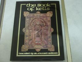 The Book of Kells Cover Book by extraphotos
