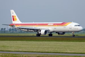 Iberia Airbus A321-211 by SliverFoxNL