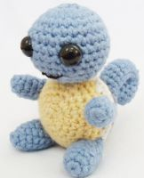 007 Squirtle Amigurumi by LilDezzi