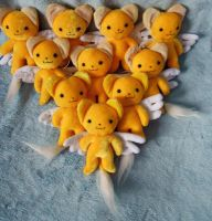 Kero keychains (up for sale) by Rens-twin