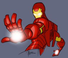 Iron Man warm up by MBorkowski