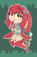 Mipha - The Legend of Zelda: Breath of the Wild by Maple-Cat