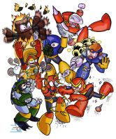 Robot Master Disaster by BlueBandanaJake